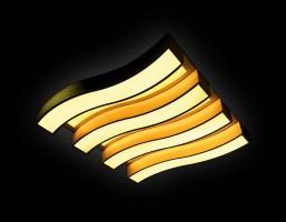 Светильник светодиодный FP2424 WH 120W+72W D700*690
