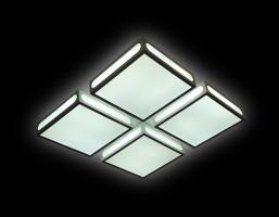 Светильник светодиодный FS1888 WH/SD 144W 4200K D520*520