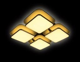 Светодиодный светильник FG2034 WH 128W+48W D670*670