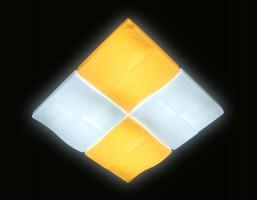 Светильник светодиодный FP2382 WH 128W D500*500