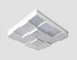 Светильник светодиодный FS1550 WH/SD 192W D715*715