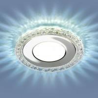 Светильник 9909 LED 8W CL прозрачный