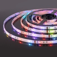 Светодиодная лента 30Led 7,2W IP20 мульти (5050 12V 30Led 7,2W IP65) (5 метров)