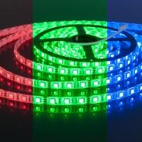 Светодиодная лента 60Led 14,4W IP65 мульти (5050 12V 60Led 14,4W IP65 RGB) (5 метров)