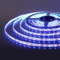 Светодиодная лента 60Led 4,8W IP20 синий (2835 12V 60Led 4,8W IP20) (5 метров)