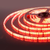 Светодиодная лента 60Led 4,8W IP65 красный (2835 12V 60Led 4,8W IP65) (5 метров)