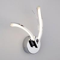 Настенный светильник 90086/2 хром