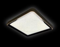 Светильник светодиодный FS1216 WH/CH 72W+29W D500*500