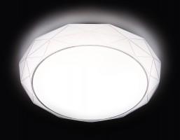 Светильник светодиодный F16 WH 48W D400 ORBITAL Многофункциональный (ПДУ)