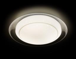 Светильник светодиодный F46 WH 48W D450 ORBITAL Многофункциональный (ПДУ)
