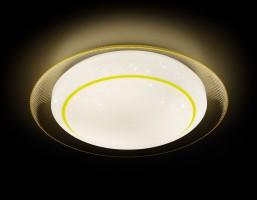 Светильник светодиодный F46 YL 48W D450 ORBITAL Многофункциональный (ПДУ)