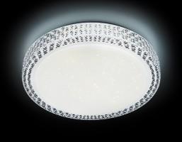 Светильник светодиодный F86 WH 72W D500 ORBITAL Многофункциональный (ПДУ)