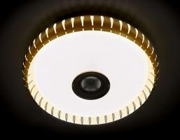 Светильник светодиодный F789 GD 72W D500 ORBITAL DANCE Многофункциональный (ПДУ)