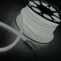 LS002 220V Гибкий неон  9.6W 120Led 2835 IP67 круглый белый