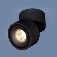 Светильник DLR031 15W 4200K черный матовый
