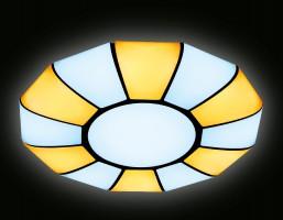 Светильник светодиодный FP2313L WH 114W D480 ORBITAL (ПДУ РАДИО 2.4)