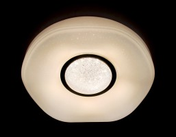Светильник светодиодный FS1236 WH 48W D390