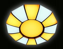 Светильник светодиодный FP2311 WH 114W D480 ORBITAL (ПДУ РАДИО 2.4)