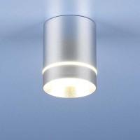 Светильник DLR021 9W 4200K хром матовый