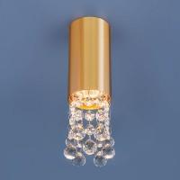 Светильник 1084 GU10 GD золото