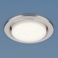 Светильник 1036 GX53 WH/SL  белый/серебро