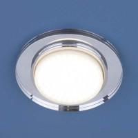 Светильник 8061 GX53 SL зеркальный/серебро