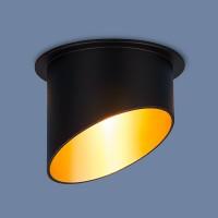 Светильник 7005 MR16 BK/GD черный/золото