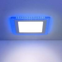Светильник Down Light-DLS024 10W 4200K Blue (DLS024 7+3W 4200K)