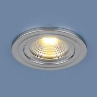 Светильник 9902 LED 3W COB SL серебро