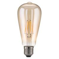 Лампа LED - Classic FD 6W 3300K E27 (ST64 тонированный)