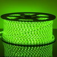Светодиодная лента 220V 4,4W 60Led 3528 IP65 зеленый, LSTR001 220V 4,4W IP65
