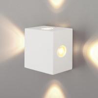 Kvatra белый уличный настенный светодиодный светильник 1601 TECHNO LED