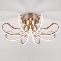 Потолочный светодиодный светильник 90079/8 сатин-никель