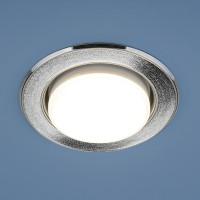 Светильник 1072 GX53 SL/СН серебряный блеск/хром