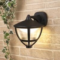Gala D черный уличный настенный светодиодный светильник GL LED 3001D