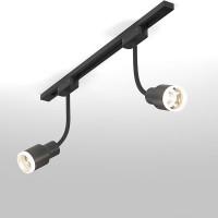 Трековый светодиодный светильник для однофазного шинопровода Molly Flex Черный 7W 4200K LTB38