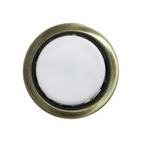 Встраиваемый точечный светильник OPTIMA GX53, Бронза