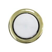 Встраиваемый точечный светильник OPTIMA GX53, Золото