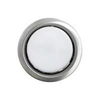Встраиваемый точечный светильник OPTIMA GX53, Сатин хром