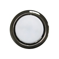 Встраиваемый точечный светильник OPTIMA GX53, Черный хром