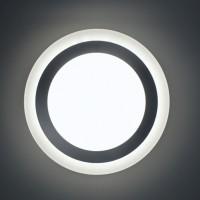 Светодиодный светильник AURA,  9W, 4200K+4200К