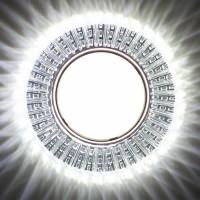Встраиваемый точечный светильник с LED подсветкой GX5350 GLAMUR , 4200К