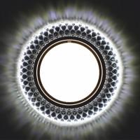 Встраиваемый точечный светильник с LED подсветкой GX5370 GLAMUR , 4200К