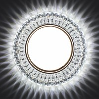 Встраиваемый точечный светильник с LED подсветкой GX5380 GLAMUR , 4200К