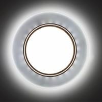 Встраиваемый точечный светильник с LED подсветкой GX53001 GLAMUR , 4200К, (матовый)