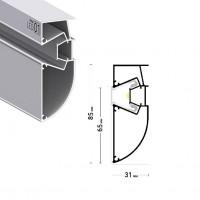 Профиль ПФ6944 LED-СТАНДАРТ ОБНОВЛЕННЫЙ, запиленый 2м