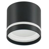 Накладной потолочный светильник OL9 GX53 черный+белый