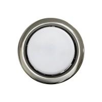 Встраиваемый точечный светильник OPTIMA GX 53, никель жемчужный