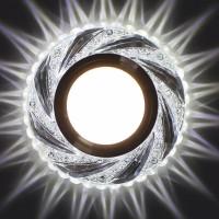 Встраиваемый точечный светильник с LED подсветкой GLAMUR MR1620, 4200К