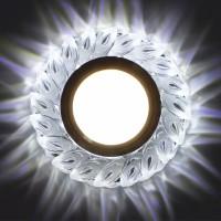 Встраиваемый точечный светильник с LED подсветкой GLAMUR MR1630, 4200К